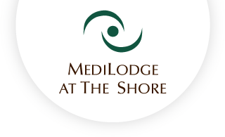 Medilodge at the shore web logo